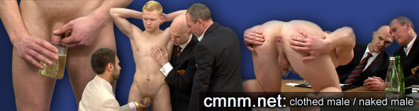 forced gay male nudity