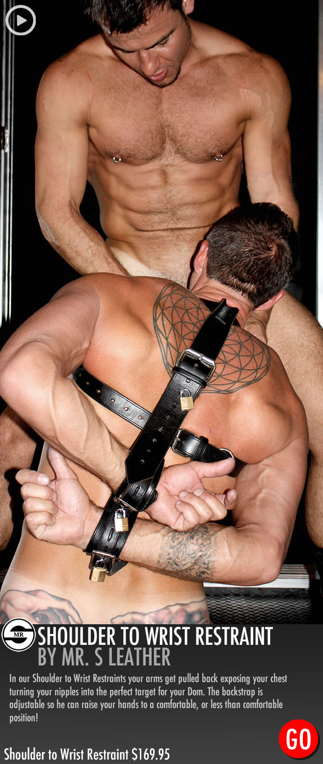 gay bondage cocksuckers muscle worship