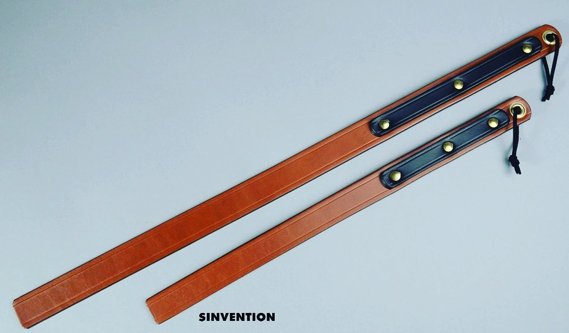 custom leather discipline gear