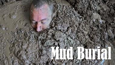 buried in the mud