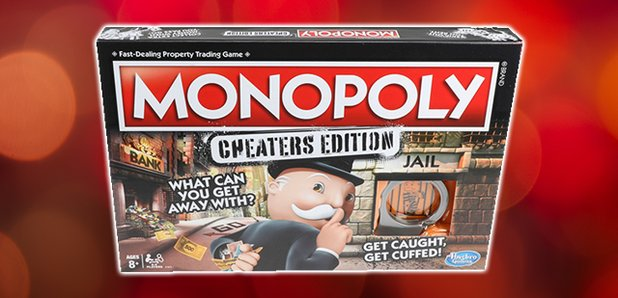 Monopoly game handcuffs