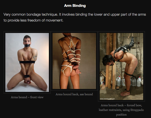 gay bondage positions