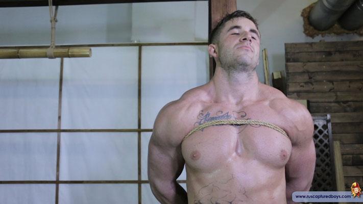 Torturing a muscular captive