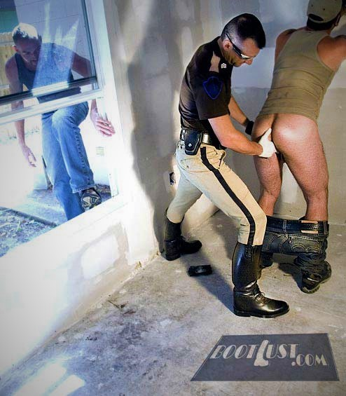 from Cohen gay cop boot fetish