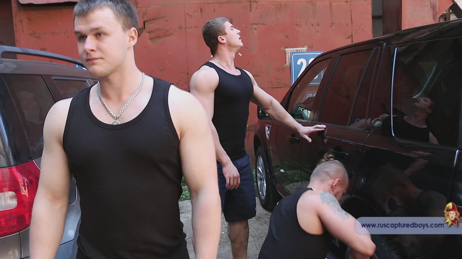 captured gay boys