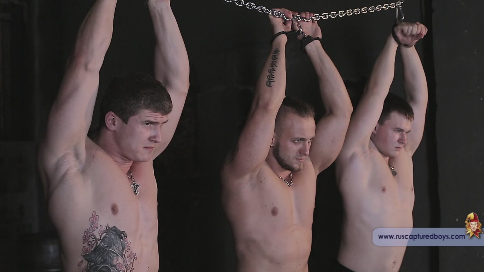 Hot muscle men naked tied up, married man fuck porn