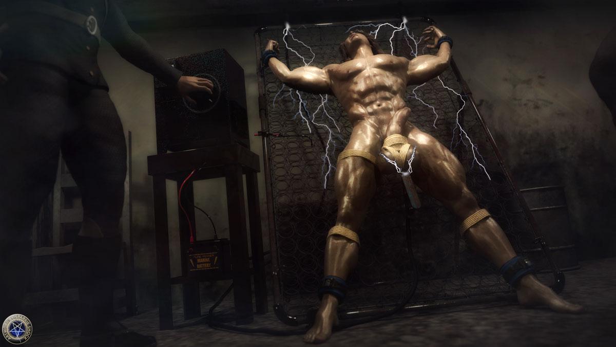 torture porn artist Sparkie Shock