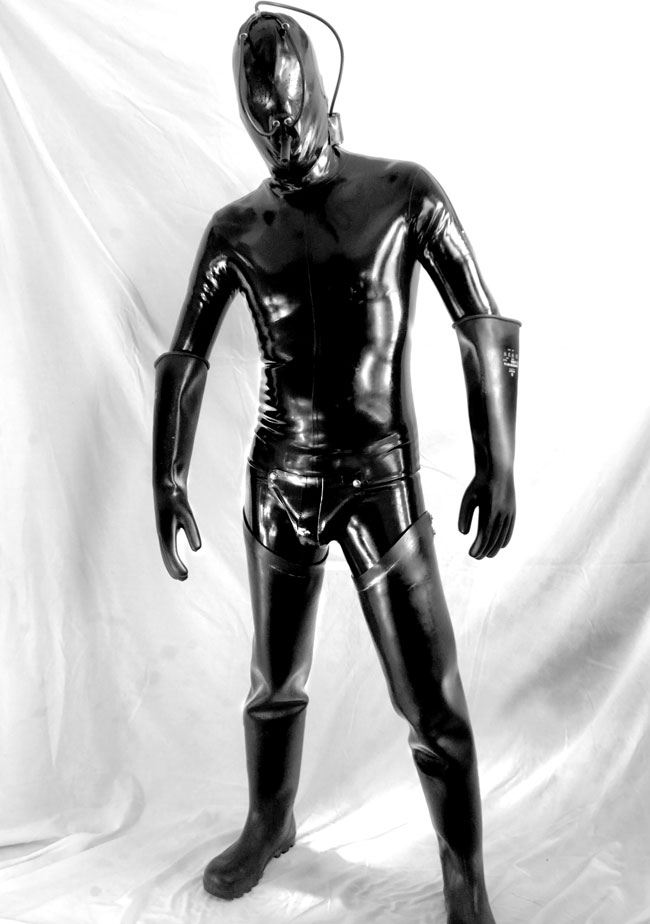 full rubber coverage gay bdsm