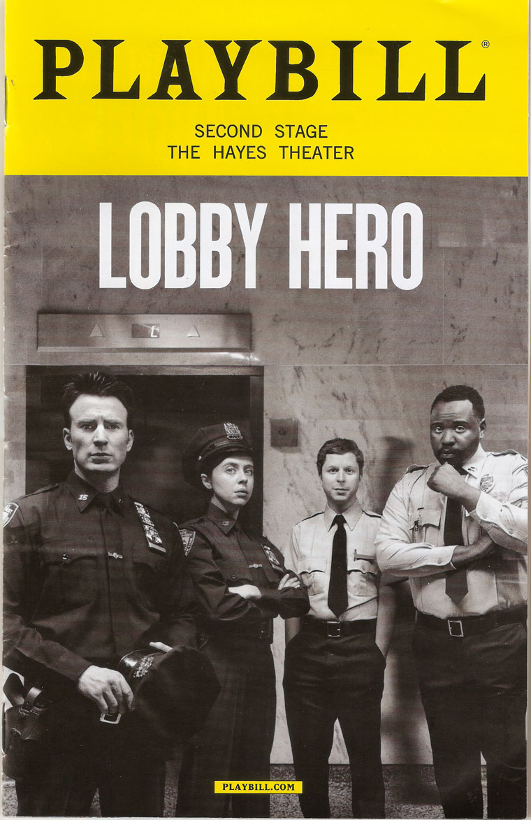 Lobby Hero Chris Evans
