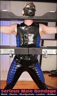 gay male rubber bondage