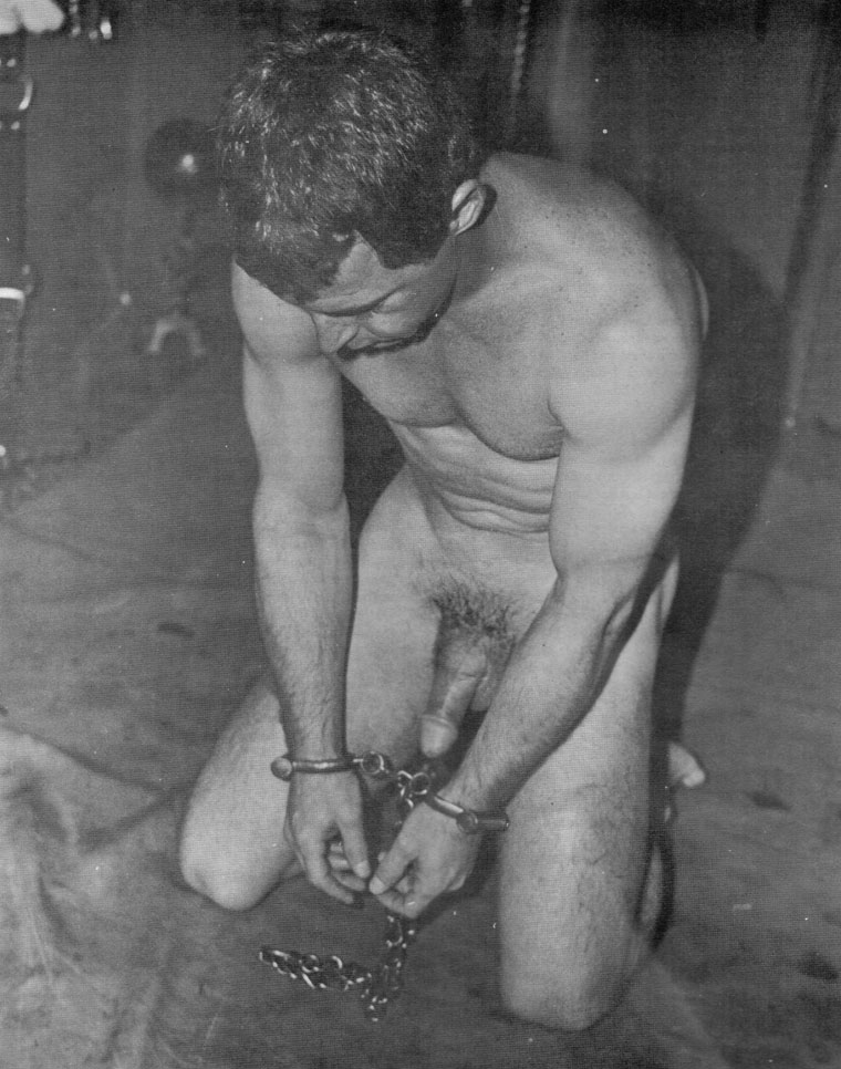 And male bound gagged