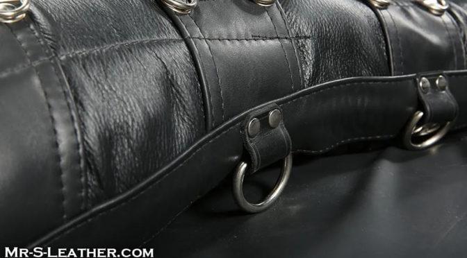 Struggling in a Mr S Leather Sleepsack
