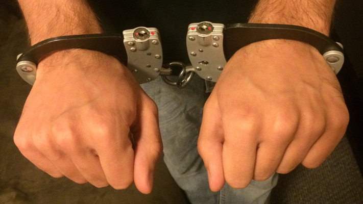 Pictures: Cutieboy90 in high-security cuffs