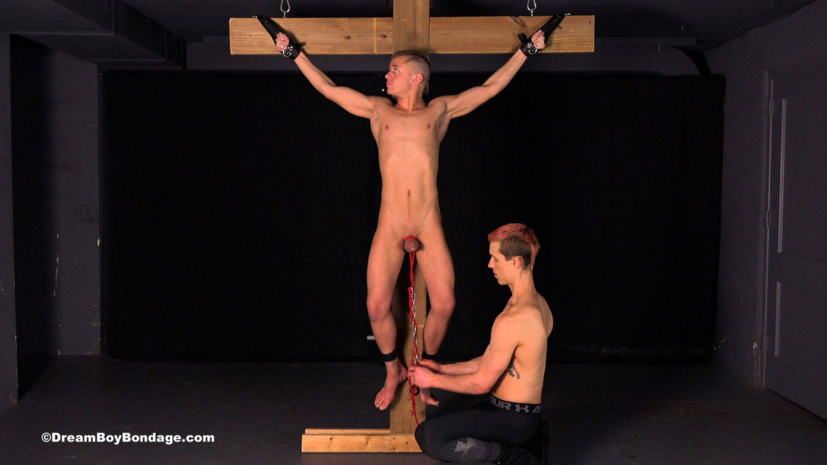 gay bondage crucified