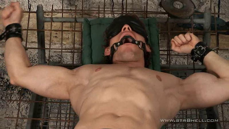 Bondage action for tough guys