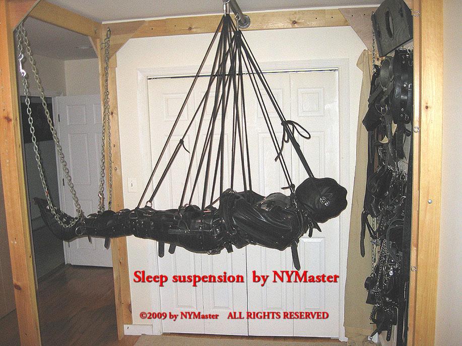 sleep sack suspension bondage