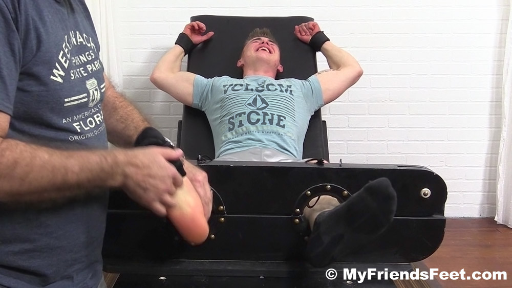 male bondage and tickling