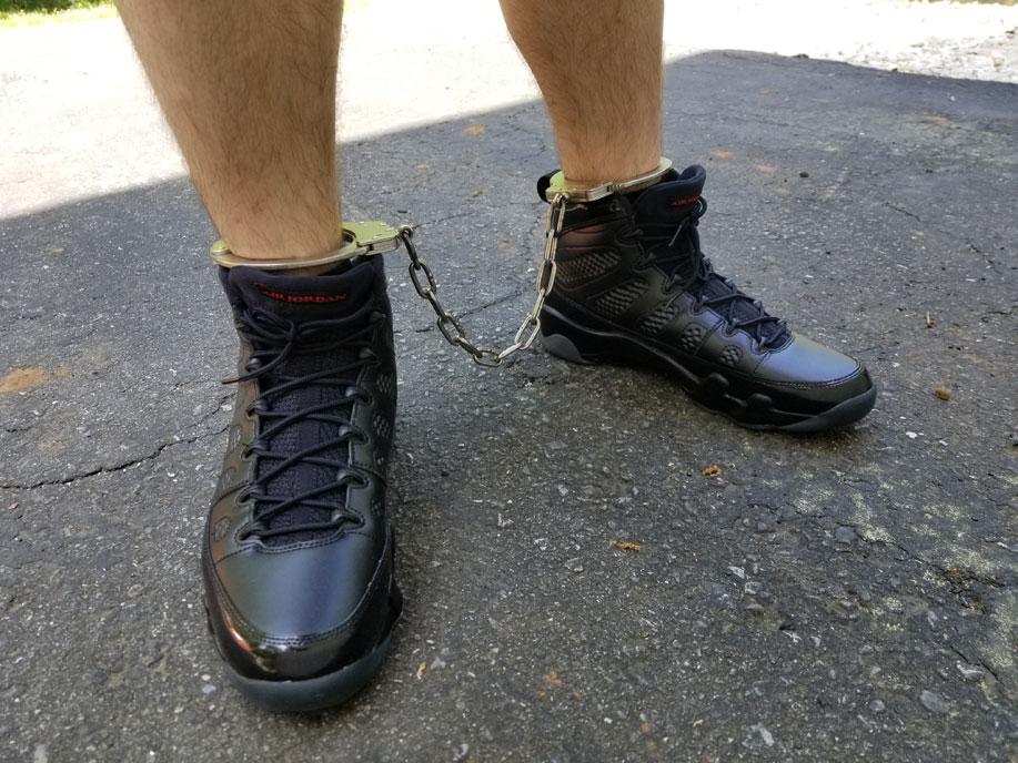 sneaker fetish and bondage