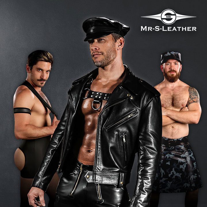 Terry Miller in full leather