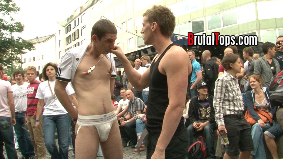 male handcuff bondage