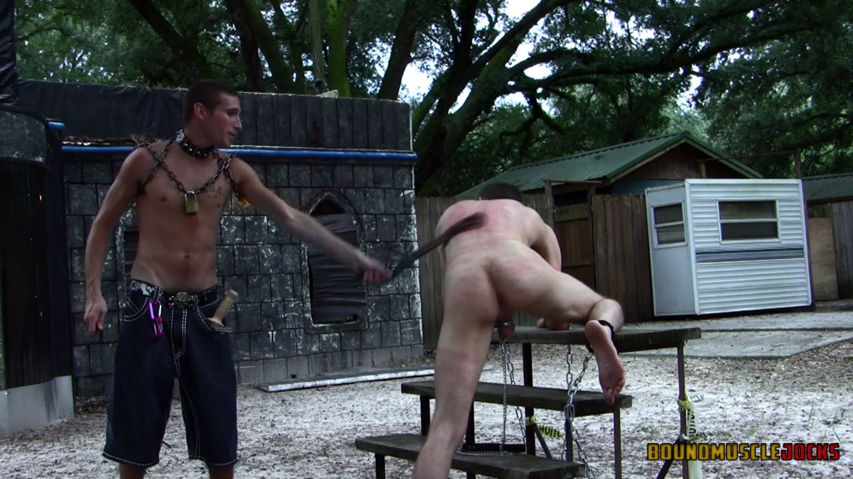 male butt bondage