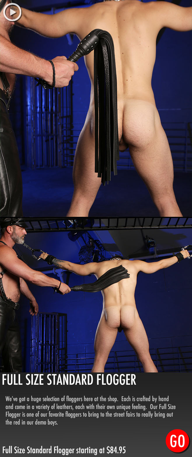 Kristofer Weston male bondage