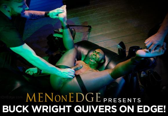 Buck Wright gay bondage