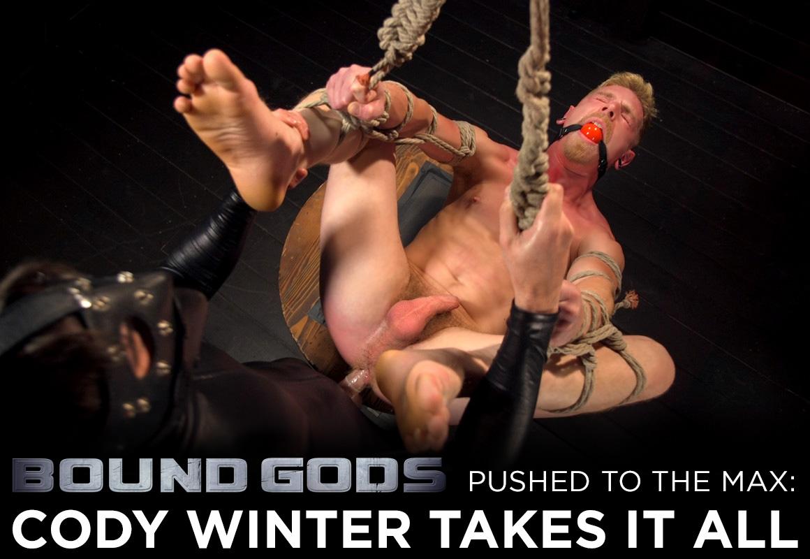Cody Winter gay bondage