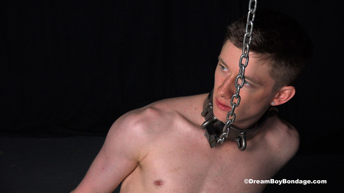 Felix hangs on the cross for hours before getting chained like a dog