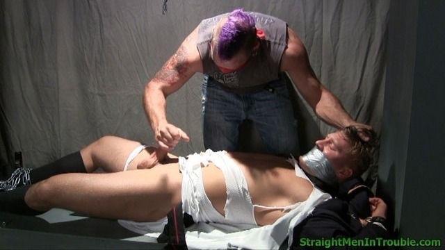 men tied up