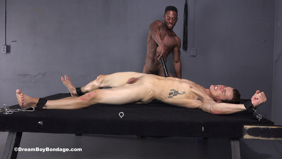 Bound sucking fucking torturs for nude guy
