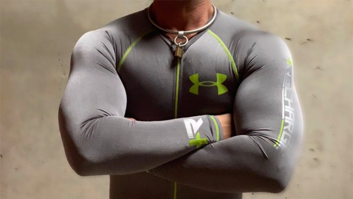 Locked in Under Armour