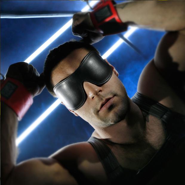 blindfolded men of bondage