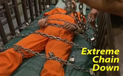 men in chains