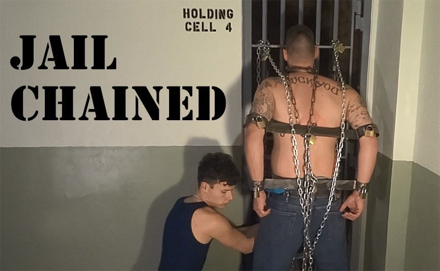 chained up in jail cell