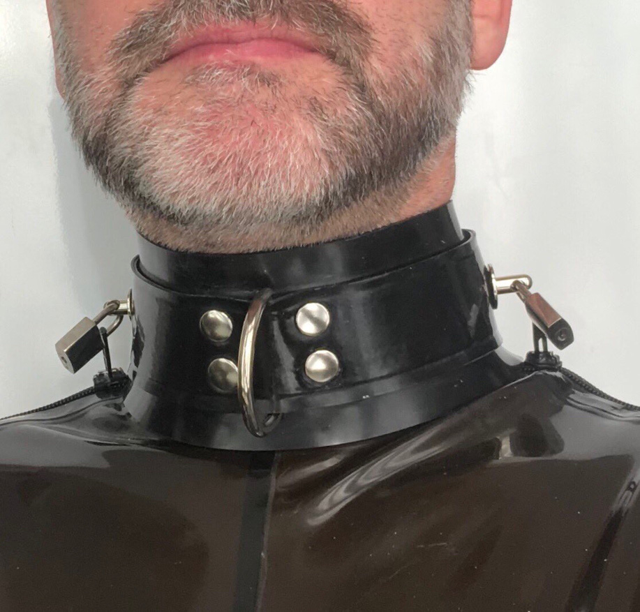 locking rubber collar