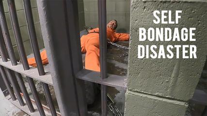 self bondage gone wrong