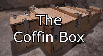 Coffin box for bondage