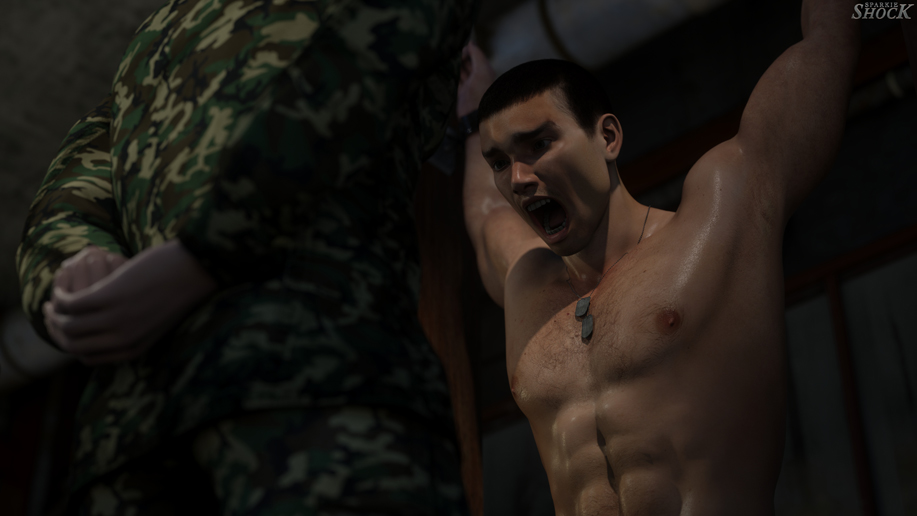 muscle bondage torture porn