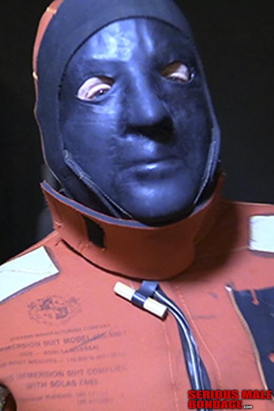 male BDSM hazmat gear