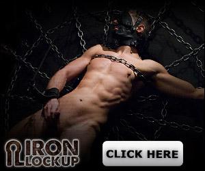 discount code on Iron Lockup male bondage