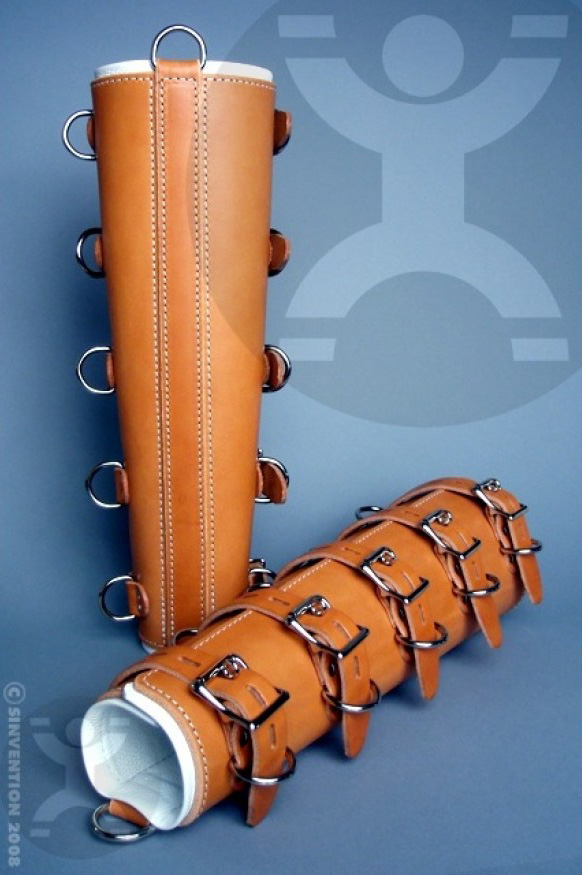 high quality leather bondage restraints