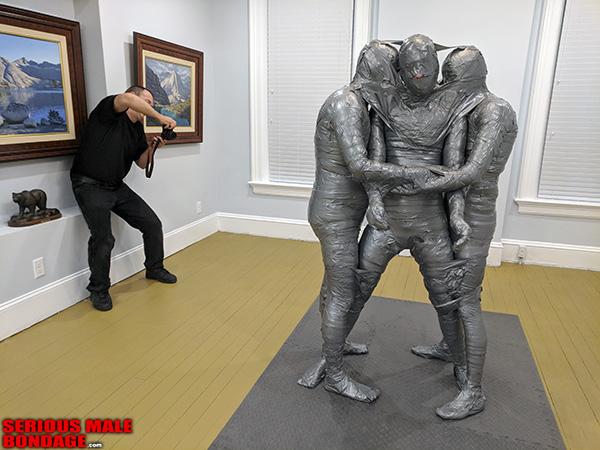 art gallery bondage