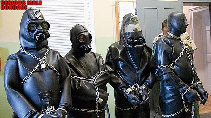 A rubber chain gang