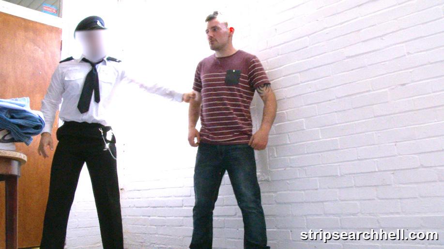 male strip search in prison