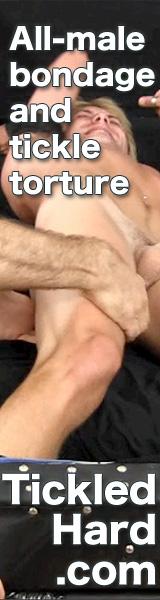 male bondage tickling