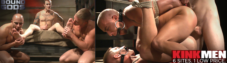 Michael DelRay punishes Alex Mecum for slacking and jacking off