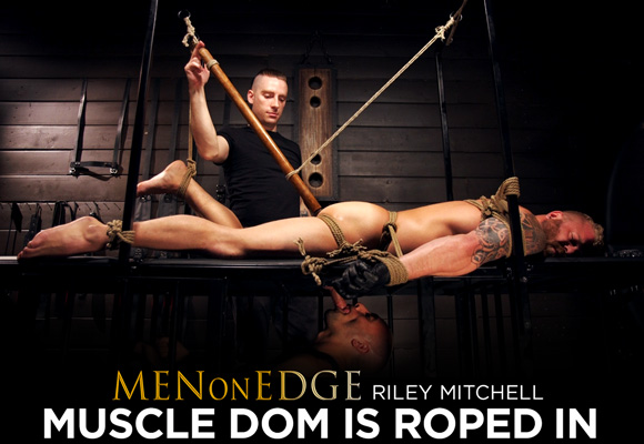 Riley Mitchell male bondage