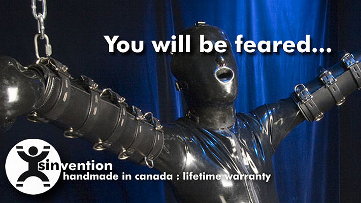 You will be feared