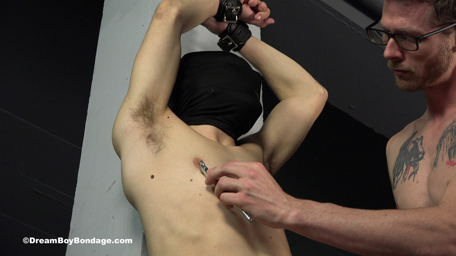 Video: A captive twink undergoes heavy CBT